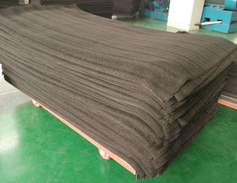 90kg/m3 Open cell EPDM foam sheets
